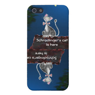 Schrodinger iPhone 5 Funda
