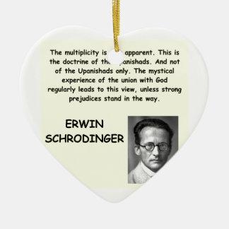 schrodinger quote ornament