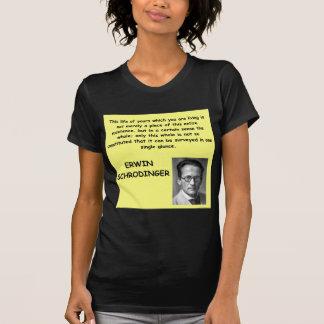 schrodinger quote t shirt