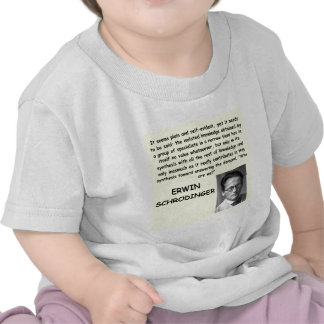 schrodinger quote t-shirts
