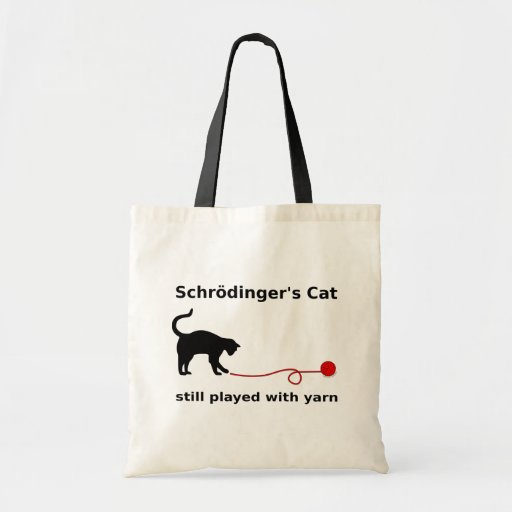 """Schrödinger's Cat"" Bag (Light) Bag"