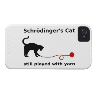 """Schrödinger's Cat"" iPhone 4/4S Case (Mate)"