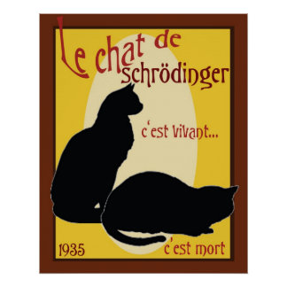 Schrodinger s Cat Posters