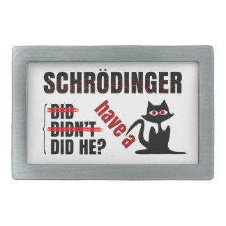 Schrodinger s Dillema Belt Buckle