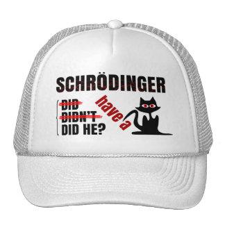 Schrodinger s Dillema Trucker Hat