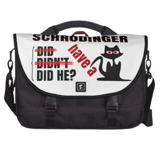 Schrodinger s Dillema Bags For Laptop
