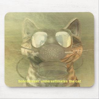 Schrödinger subestima el mousepad del gato alfombrilla de ratones