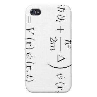 Schrodinger wave equation cover for iPhone 4