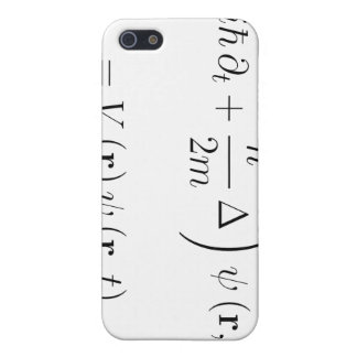Schrodinger wave equation cover for iPhone SE/5/5s