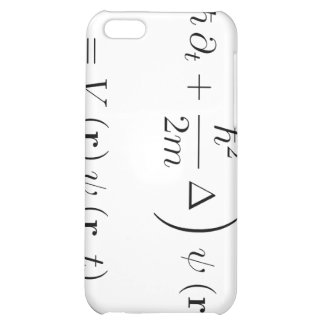 Schrodinger wave equation cover for iPhone 5C
