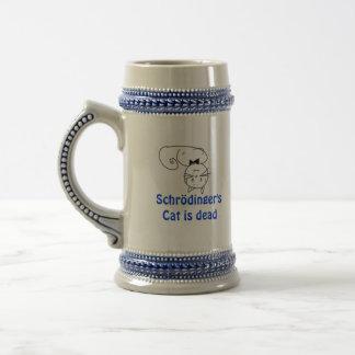 Schrödinger's Cat 18 Oz Beer Stein