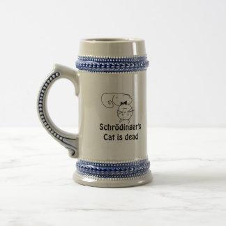Schrödinger's Cat Beer Stein