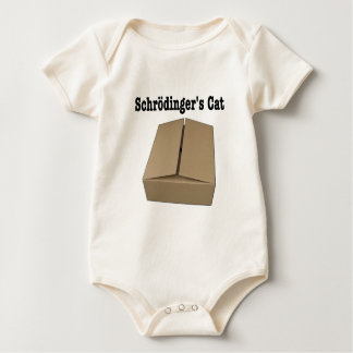 Schrodinger's Cat Box Baby Bodysuit