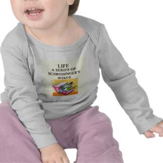 schrodinger's cat box joke t-shirts
