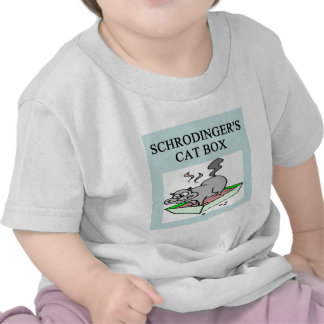 schrodinger's cat box t-shirt