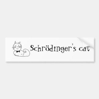 Schrödinger's cat bumper sticker