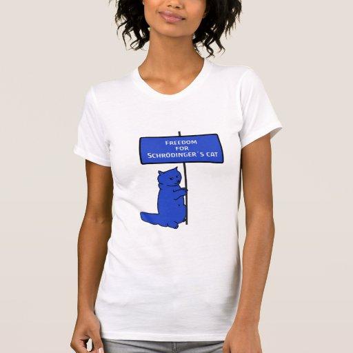 schrödingers cat camisetas