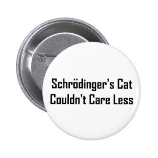 Schrodinger's Cat Couldn't Care Less Button