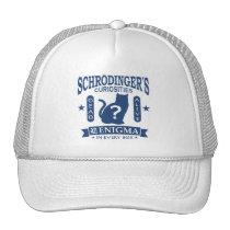 Schrodinger's Cat Dead or Alive Quantum Mechanics Trucker Hat