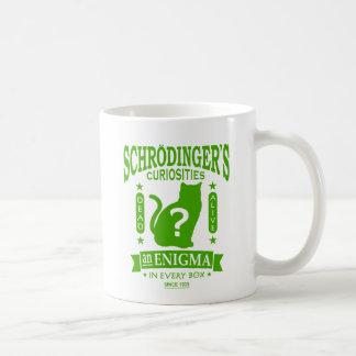 Schrodinger's Cat Dead or Alive Quantum Mechanics Classic White Coffee Mug