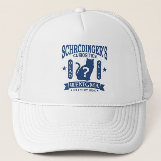 Schrodinger's Cat Dead or Alive Quantum Mechanics Trucker Hat