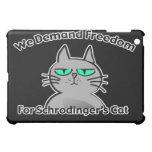 Schrodinger's Cat Funny Geek Humor iPad Mini Covers