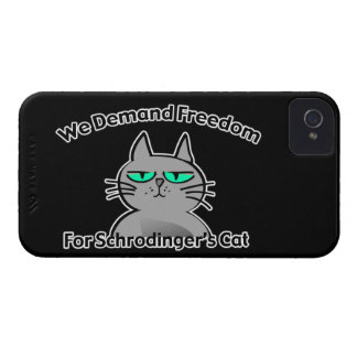Schrodinger's Cat Funny Geek Humor iPhone 4 Cover