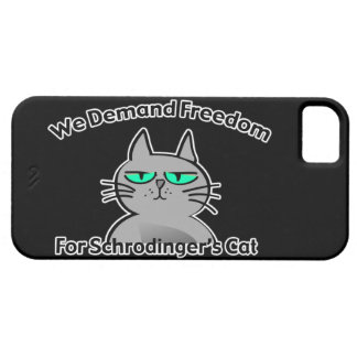 Schrodinger's Cat Funny Geek Humor iPhone SE/5/5s Case