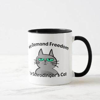 Schrodinger's Cat Funny Geek Humor Mug