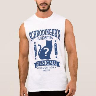 Schrodinger's Cat Funny Quantum Mechanics Paradox Sleeveless Shirt