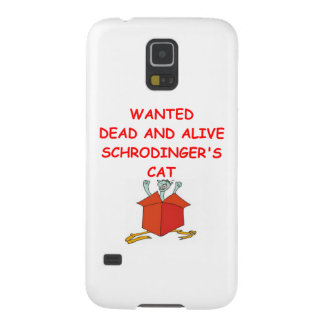 schrodinger's cat galaxy s5 cover