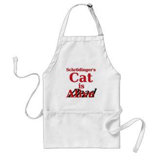 Schrodinger's Cat is Alive Dead Adult Apron