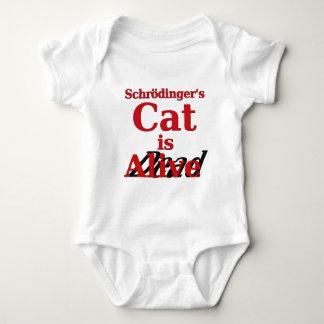 Schrodinger's Cat is Alive Dead Baby Bodysuit