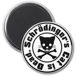 Schrödinger's Cat is Dead. Magnet