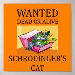 schrodinger's cat joke poster