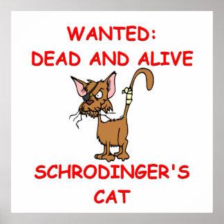 schrodinger's cat joke print