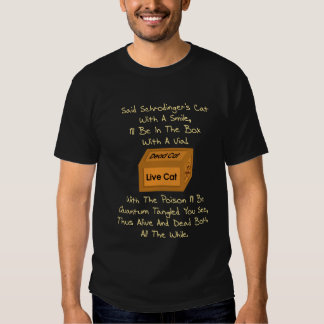 Schrodinger's Cat Limerick Shirt