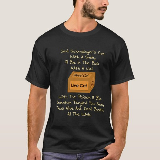 Schrodinger's Cat Limerick T-Shirt
