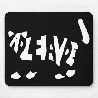 Schrödinger's cat mouse pad