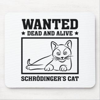Schrodinger's Cat Mouse Pad