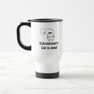 Schrödinger's Cat 15 Oz Stainless Steel Travel Mug