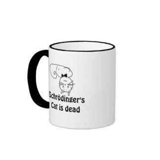 Schrödinger's Cat Ringer Coffee Mug