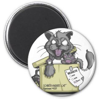 Schrodinger's Cat - New 2 Inch Round Magnet