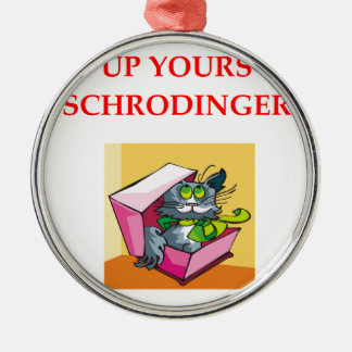 schrodinger's cat ornaments