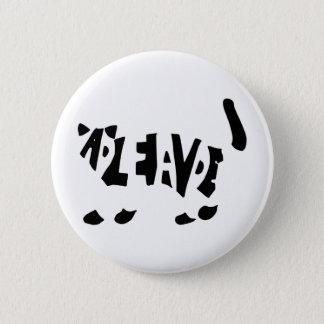 Schrödinger's cat pinback button