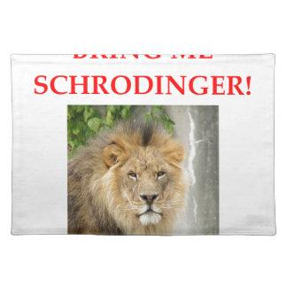 schrodinger's cat placemat
