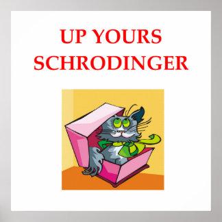 schrodinger's cat print