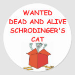 schrodinger's cat stickers