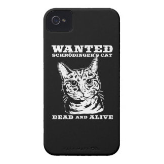 Schrodinger's cat wanted dead or alive iPhone 4 cover