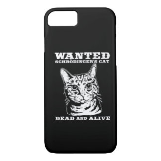 Schrodinger's cat wanted dead or alive iPhone 8/7 case